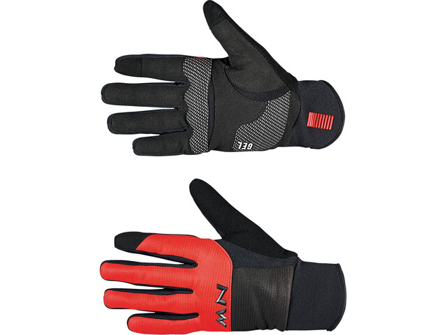 Northwave Power 3 Full Gloves Men black/red